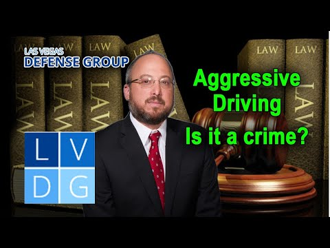 """Aggressive Driving"" in Nevada – Can I lose my license?"