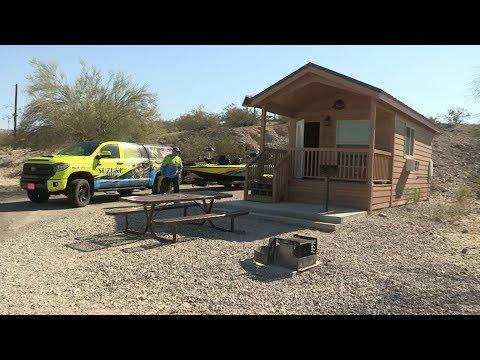 Fishing with Johnny Johnson - Alamo Lake, AZ - Where's The Big Ones?