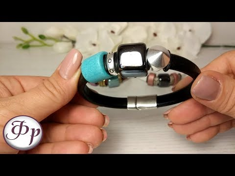 Как сделать браслет регализ. Идеи для браслетов. Мастер класс.