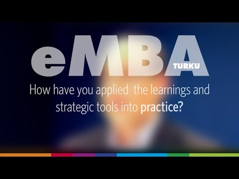 EMBA Turku - practical application of strategic tools