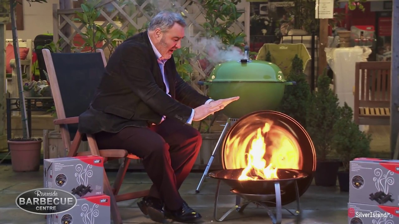 Review Of The New Weber Fireplace 2014 Youtube