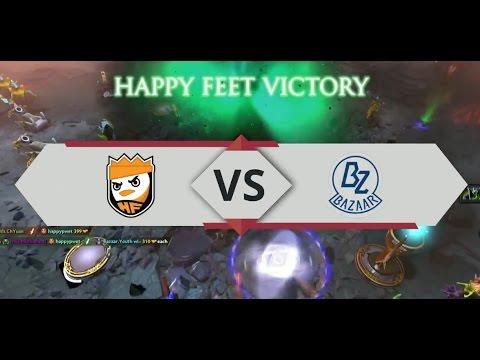[HIGHLIGHT] Happy Feet vs Bazaar.Youth - IGC by Telkomsel