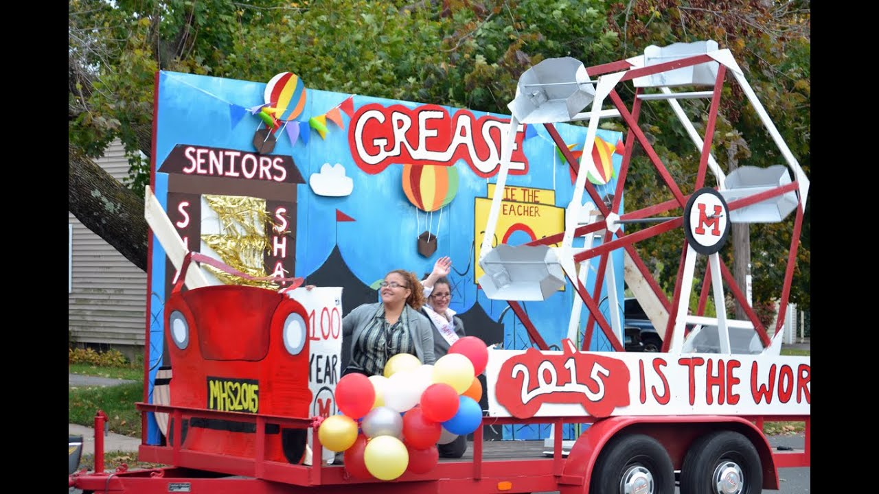 Manchester High School 2014 Homecoming Parade: Seniors ...