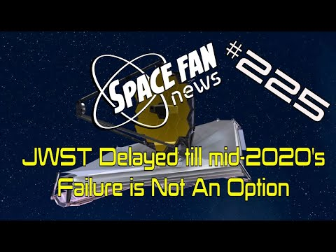 NASA JWST Delayed till mid-2020: Failure is Not An Option