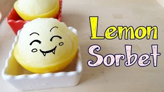 How To Make Lemon Sorbet 檸檬雪葩
