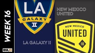 LA Galaxy II vs. New Mexico United: June 22nd, 2019
