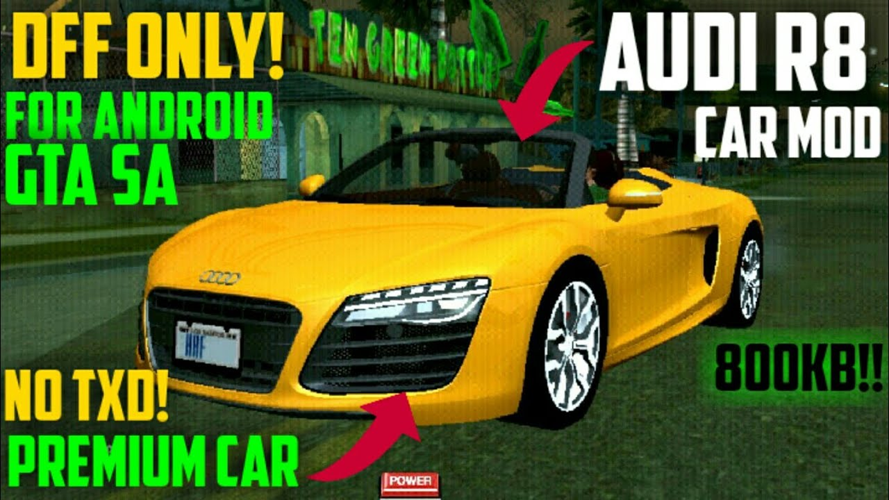 93 Mod Mobil Sport Gta Sa Android Dff Only HD Terbaik
