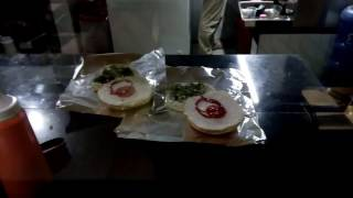 Making of American Cheese Burger: American Cheese Burger in Bangladesh