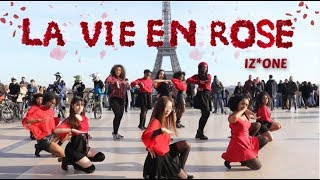 [DANCE IN PUBLIC PARIS] IZ*ONE (아이즈원) - 라비앙로즈 (La Vie en Rose) Dance cover by Impact [PROJET]