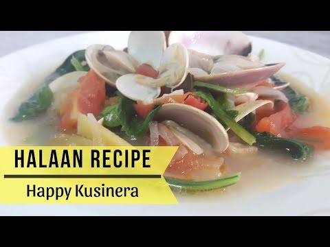 Sinabawang Halaan Recipe | Clam Soup Recipe