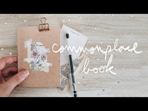 you should start a commonplace book Mp3