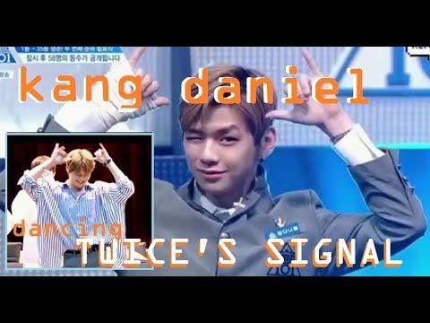 KANG DANIEL DANCES TO TWICE SIGNAL