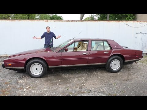 The $370,000 Aston Martin Lagonda Is the Weirdest Luxury Car
