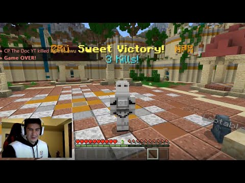 Streaming Minecraft Hunger Games Until I Get A Win (I Somehow Got 3!!!)