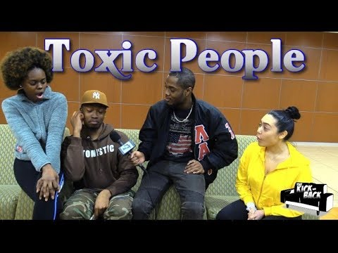 Toxic People in College Public Interview S3 Ep. 3 | The Kick- Back from YouTube · Duration:  13 minutes 37 seconds
