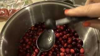 Cinful Sugar Free Cranberry Sauce!