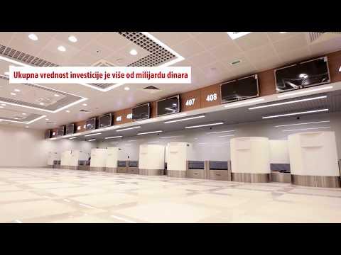 Aerodrom Nikola Tesla: Video o Terminalu 1 i Terminalu 2B