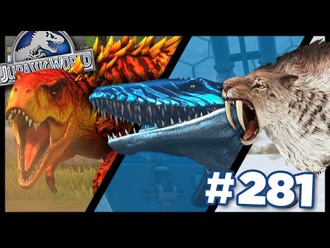 Land, Sea and Ice Battles! || Jurassic World - The Game - Ep281 HD