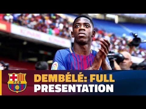 LIVE - Ousmane Dembélé's presentation press conference