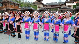 Resettlement town in Guizhou, China invigorated by ethnic dance, booming industries
