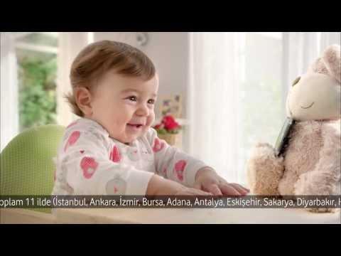 Vodafone Reklamı - Gülen Bebek