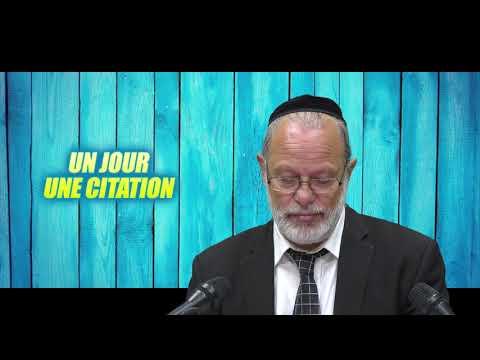 UN JOUR UNE CITATION 9 - PIRKE AVOT 1 - Moshe a recu la torah du Mont Sinai