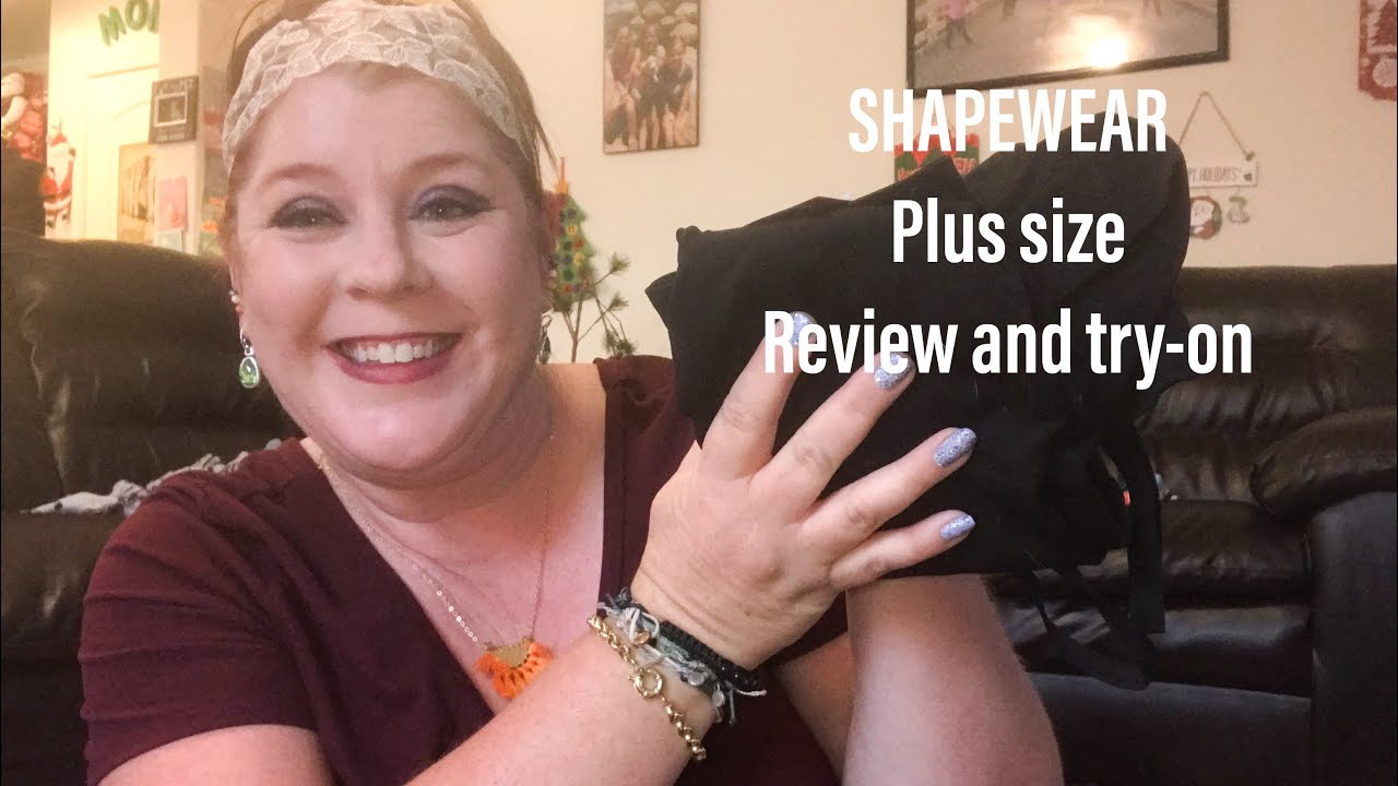 47fe261751b07 SHAPEWEAR PLUS SIZE    SHAPERMINT TRY-ON AND REVIEW - YouTube