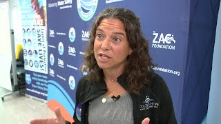 Alissa Magrum describes challenges for introducing water safety education in schools