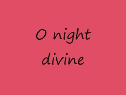 Mariah Carey - O Holy Night (lyrics on screen)