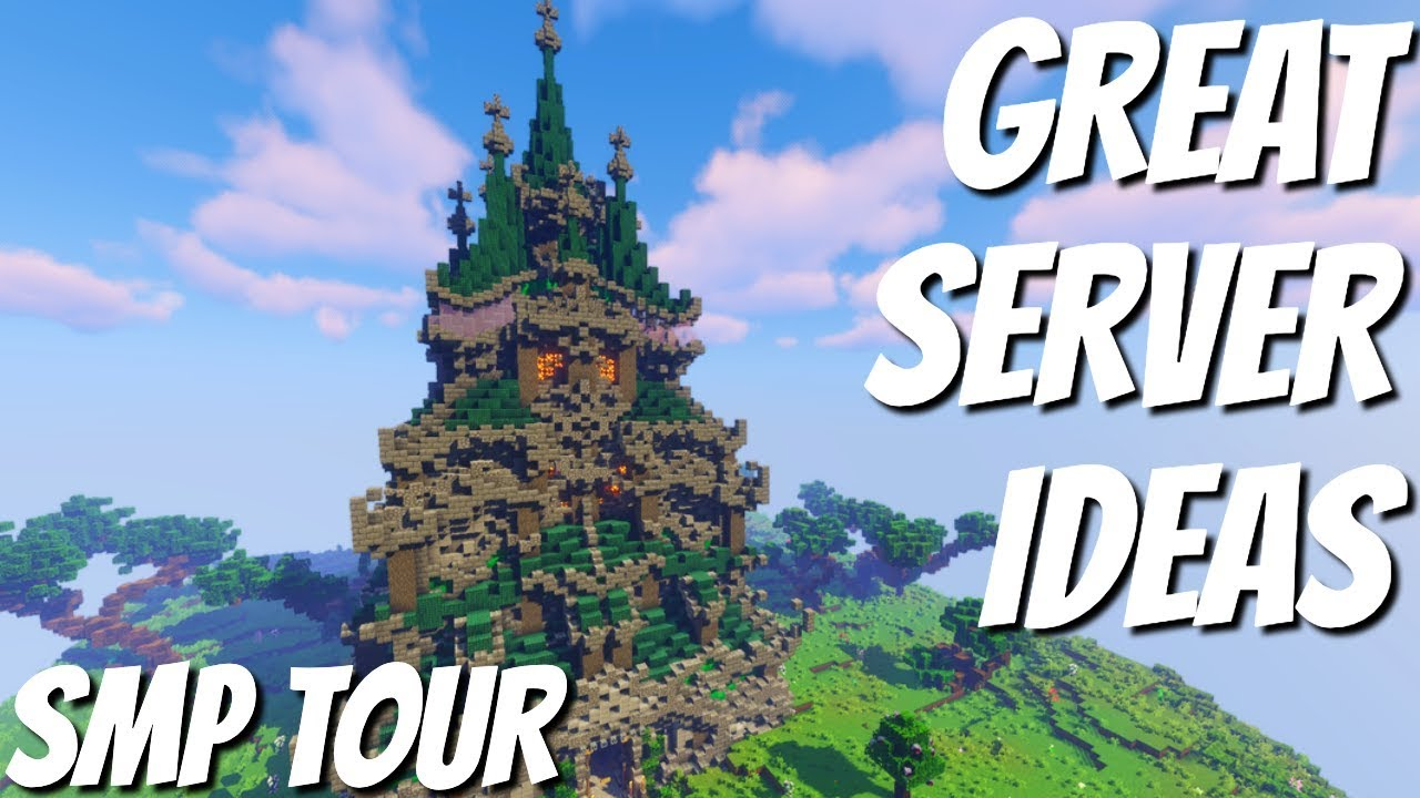 Lots of Great Minecraft Server Ideas: How to Make YOUR Server look  FANTASTIC (Avomance 20)