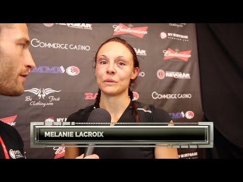 Melanie Lacroix BAMMA USA Postfight Interview