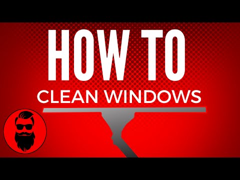 HOW TO CLEAN WINDOWS VIDEO SERIES ANNOUNCEMENT