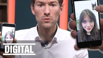 Videotelefonie per Whatsapp - Und so geht's
