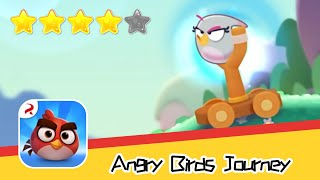 Angry Birds Journey 41-42 Walkthrough Fling Birds Solve Puzzles Recommend index four stars