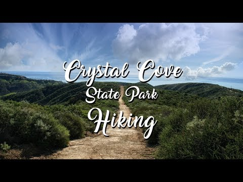 Hiking at Crystal Cove State Park California