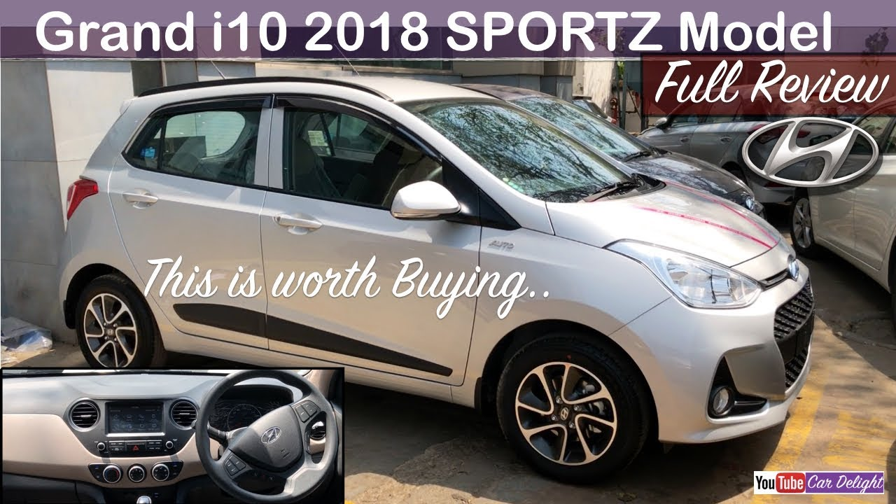 Grand I10 2018 Grand I10 Sportz 2018 Grand I10 2018 Sportz Interior Features Grand I10 Silver