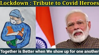 Lockdown | Tribute to Covid Heroes | Narendra Modi | Jaaga Hindustan Gold song | Anup Mishra |