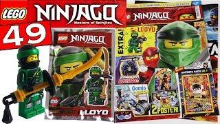 LEGO NINJAGO #49 ОБЗОР ЖУРНАЛА