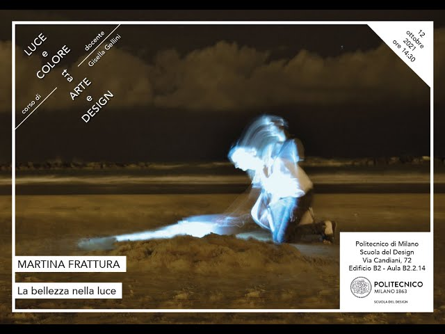 Luce e Colore tra Arte e Design | Martina Frattura - La bellezza nella luce