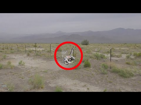 DEAD BODY SCARE While Exploring ABANDONED Military Vehicles Nevada Urban Exploration UrbEx WOT