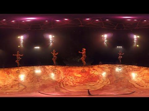 360-degree VR video of Cirque Du Soleil's TOTEM 【Fuji TV Official】