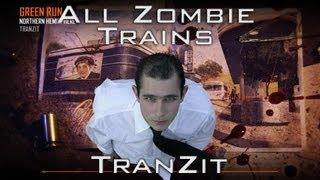 Black Ops 2 Zombies - Rape Trains in TranZit - Green Run