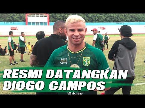 Persebaya Surabaya Resmi Datangkan Diogo Campos