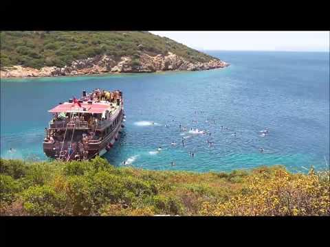 Official Lady Bente Video 2014 Cesme, Izmir, Boat Tour- English