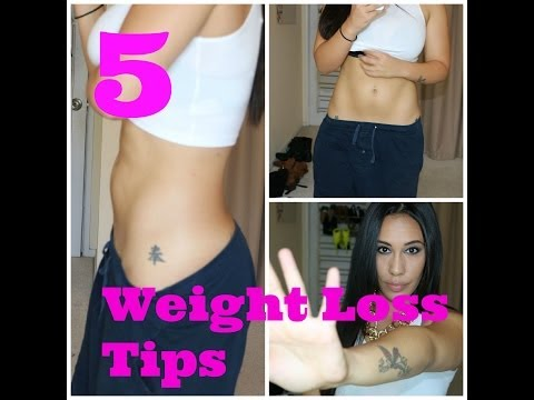5 Easy Tips To Lose Weight Fast!