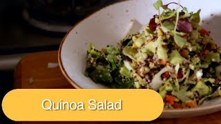 How To Make How To Make Quinoa Salad With Yogurt Dressing | Olive Tree Trading | Vicky Ratnani