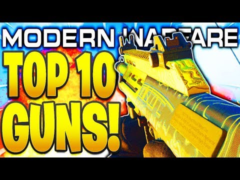 TOP 10 BEST GUNS IN MODERN WARFARE 1.10 PATCH! COD MODERN WARFARE BEST WEAPONS IN COD MW AFTER 1.10!