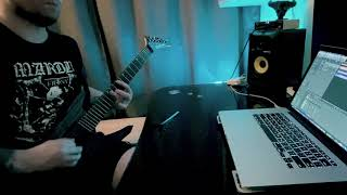 Marduk-The Devil's Song Guitar Cover
