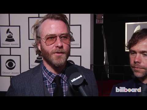 The National on the GRAMMYs Red Carpet 2014