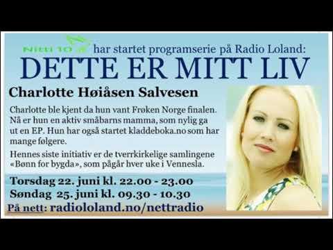 Charlotte H. Salvesen - Radio Loland intervju